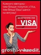 Акції від Visa: встигнути до кінця вересня